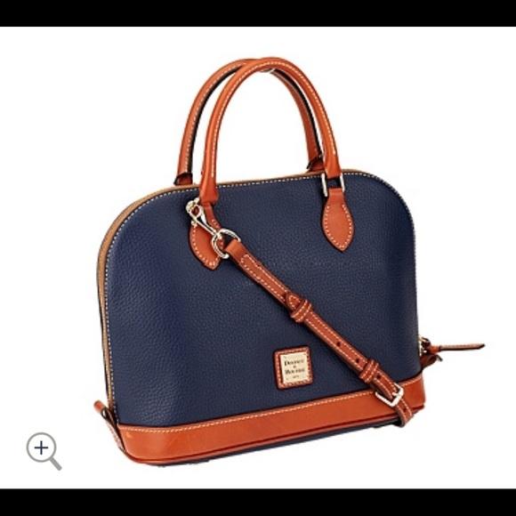Dooney & Bourke Handbags - Dooney & Bourke Zip Zip Satchel